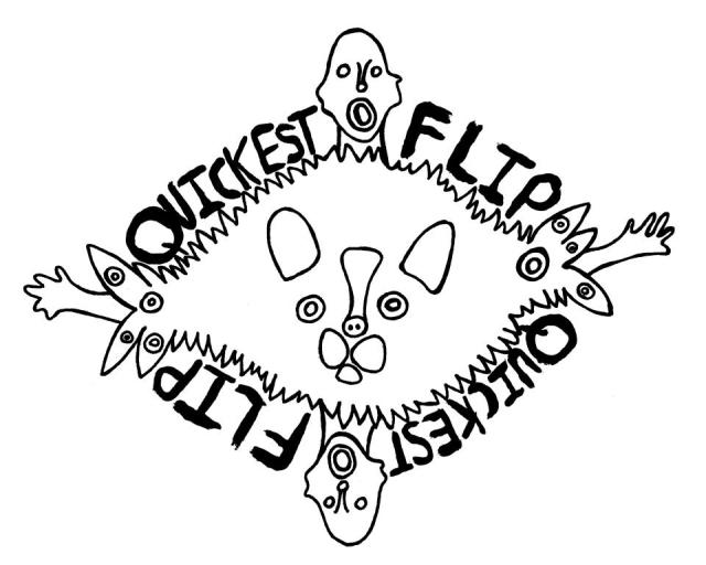 Quickest Flip Logo courtesy of Jamie Walsh