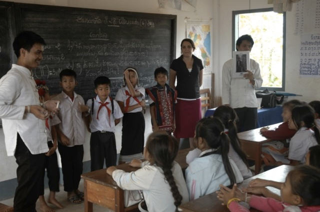 School Outreach. Photo Courtesy: TAEC
