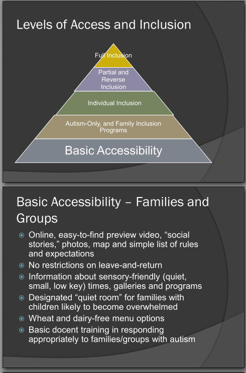 """Pyramid of Access"" created by the author. Image courtesy: Lisa Jo Rudy"