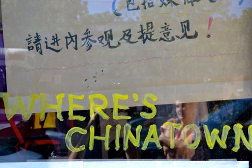 Window, Chinatown Community Think Tank.  Photo Credit Jessica Baldanza.