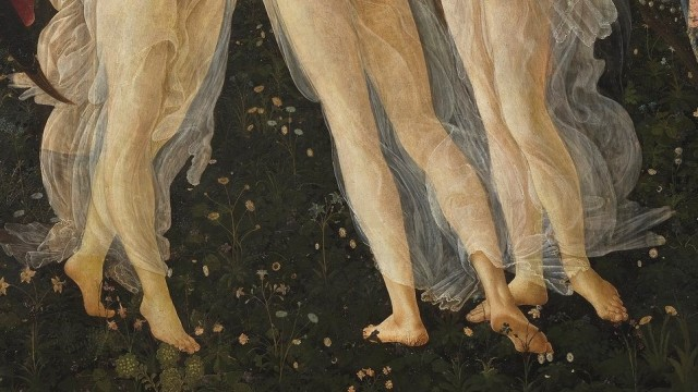Spring_Botticelli_detail of the Three Graces